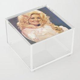 dolly parton young album 2021 atinum9 Acrylic Box