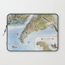 Cape Horn - Exploration AD 1616 Laptop Sleeve