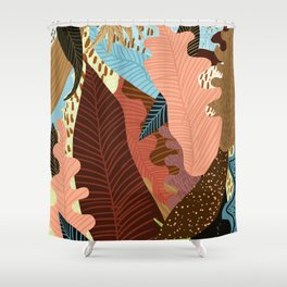 Earthy Forest Shower Curtain