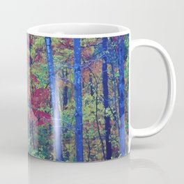 Forest - with exaggerated colors Coffee Mug