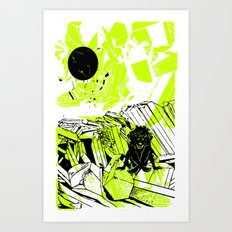 Depression on a Lonely Planet Art Print