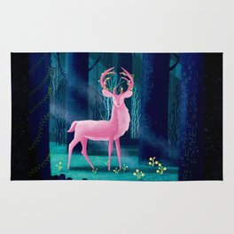 King Of The Enchanted Forest Rug