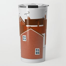 Houses in Kent and Sussex Travel Mug