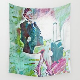 Grounded Wall Tapestry