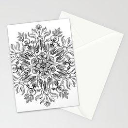 Thrive - Monochrome Mandala Stationery Cards