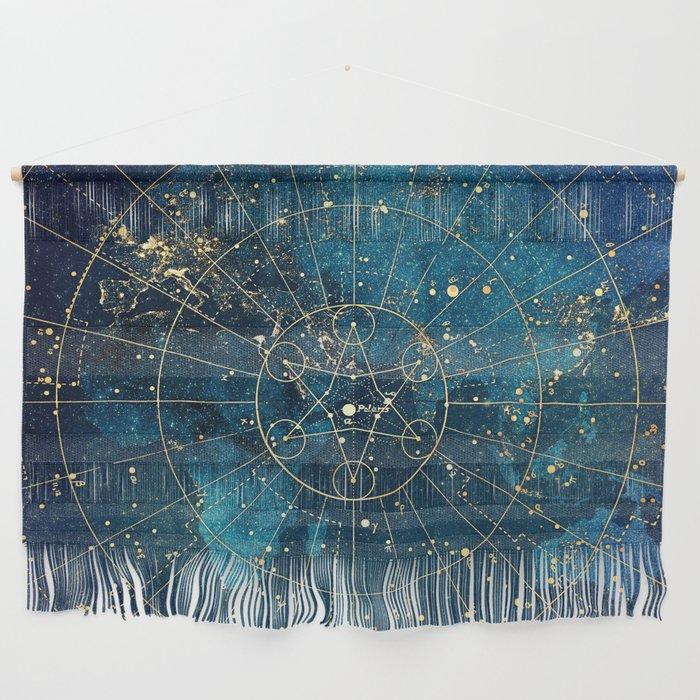 Star Map :: City Lights Wall Hanging