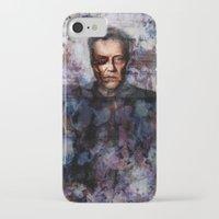 christopher walken iPhone & iPod Cases featuring Christopher Walken Terminator by Jay Gidwitz