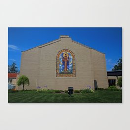 Lourdes University- Peace Prayer Attributed to St Francis Canvas Print