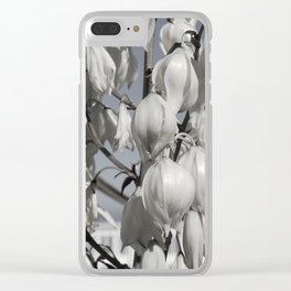Yucca blossom Clear iPhone Case