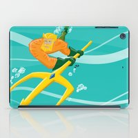 aquaman iPad Cases featuring King of Atlantis by joshWenrick