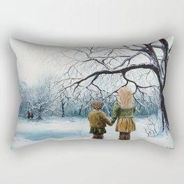 The Sisters Rectangular Pillow