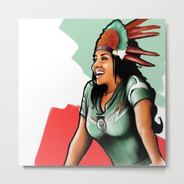 Mexico - World Cup Russia 2018 Metal Print