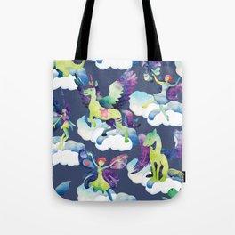 Fly into my dreams Tote Bag