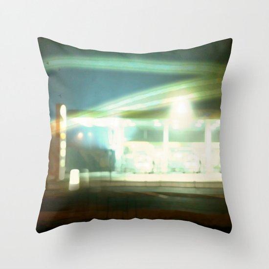 night shift Throw Pillow
