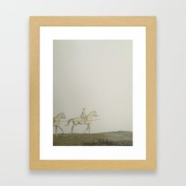 Kentucky Riders Framed Art Print