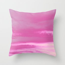 Pink Summer Vibes #1 #decor #art #society6 Throw Pillow