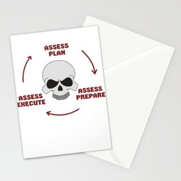 Dream Plan Execute T-shirt Design Execute cycle Stationery Cards