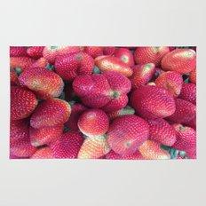 Strawberries in Paloquemao - Fresas en Paloquemao Rug