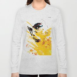 Street art yellow painting colors fashion Jacob's Paris Long Sleeve T-shirt