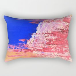 Into the Mist Pantone Color of the Year 2016 Abstract Rectangular Pillow