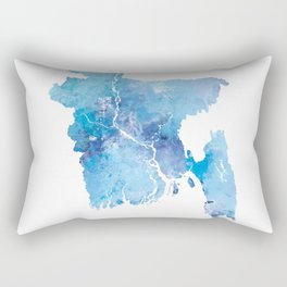 Bangladesh Rectangular Pillow