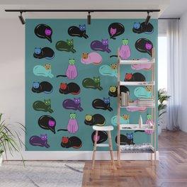 cats cats cats Wall Mural