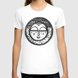 Happy People: Face 2 T-shirt