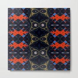 Vibrational Pattern 6 Metal Print