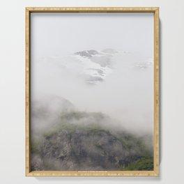 Glacier Bay Alaska Serving Tray
