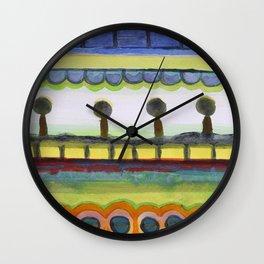 The Seaside Promenade Wall Clock