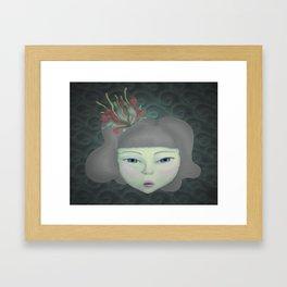 Aqua Framed Art Print