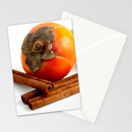 Persimmon Cinnamon Stationery Cards