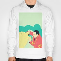 circus Hoodies featuring Circus by ministryofpixel
