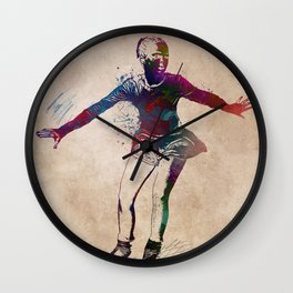 figure skating #skating #figureskating #sport Wall Clock