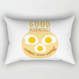 Good morning print Rectangular Pillow