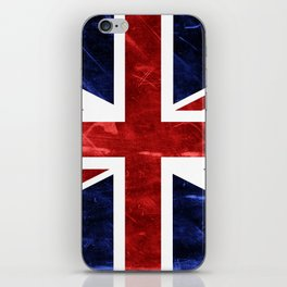 Grunge Union Jack Flag iPhone Skin