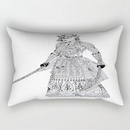 Samurai 2 Rectangular Pillow