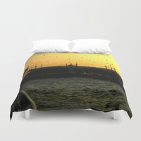 istanbul Duvet Covers featuring Istanbul by habish