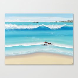 Extravagant Beauty Canvas Print