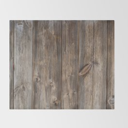 Wood texture - wooden background 2 Throw Blanket