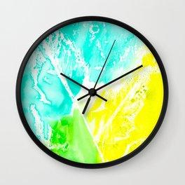 Resist Leaves Wall Clock