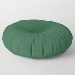 Lucky Dark Green Solid Color Pairs To Sherwin Williams Shamrock SW 6454 Floor Pillow