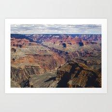 The Grand Canyon South Rim Art Print