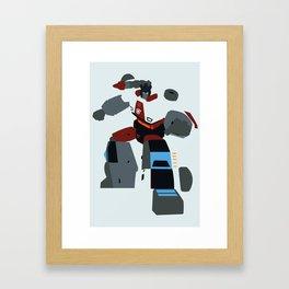 Transformers G1 - Autobot Red Alert Framed Art Print