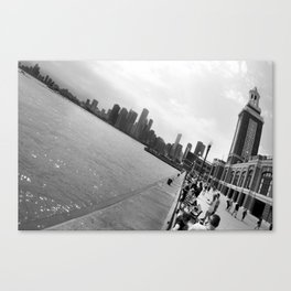 Chicago from Navy Pier Canvas Print