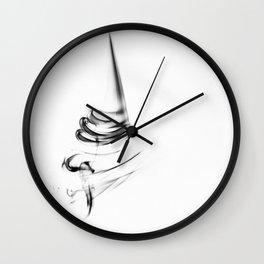 smoke 4 Wall Clock