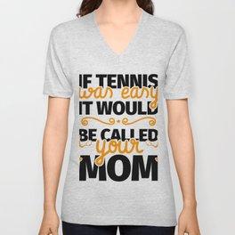 Tennis Player Funny Gift Unisex V-Neck