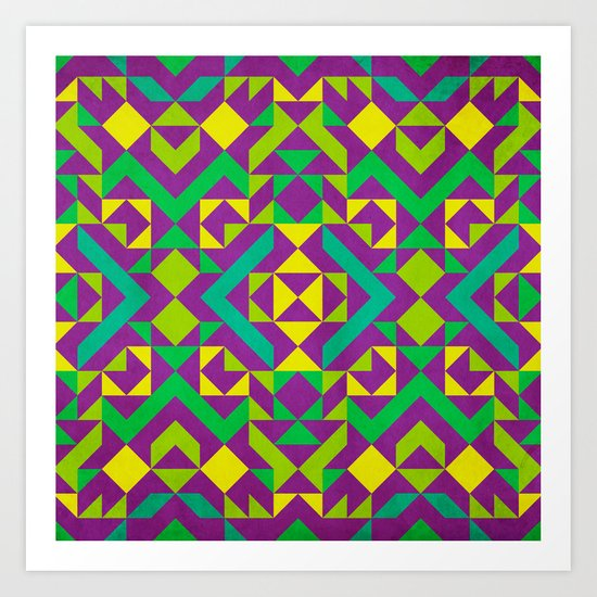 Quadrilaterals Art Print
