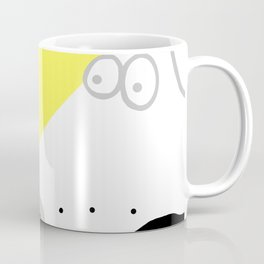 Dog Sniffing Kite by the Light of the Moon Coffee Mug