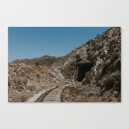 Mysterious Train Tunnel Canvas Print